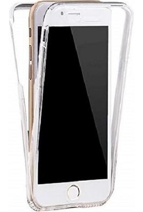 Kılfreyonum Apple iPhone 8 PLUS Ön Arka Şeffaf 360 Derece Tam Korumalı Kılıf