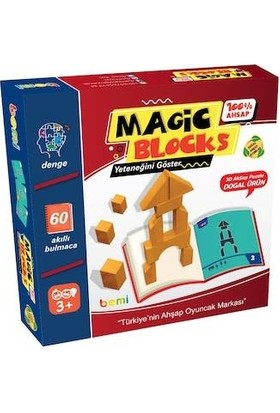 Bemi Magic Bloks Mimari Bloklar