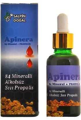 Salpin Apinera 84 Mineralli Alkolsüz Propolis Damlası 20 ml