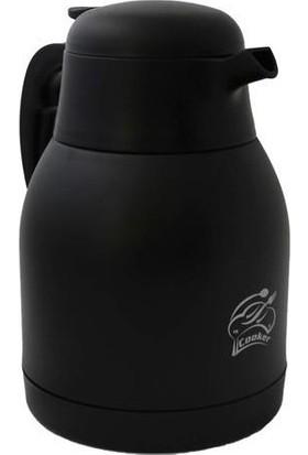 Cooker Ckr-2038 2 lt Çelik Termos Siyah