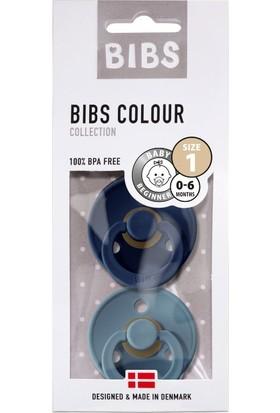 Bibs Colour İkili Emzik - Deepspace - Petrol 0-6 Ay