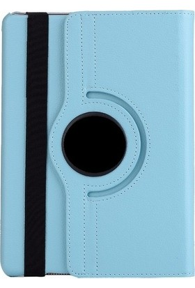 "Essleena Samsung Kılıf Seti X-Plus Kılıf Galaxy Tab A Sm-T590/T595/T597 10.5"" Dönebilen Kılıf+Kalem - Turkuaz"