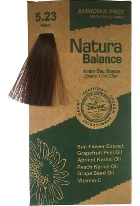 Natura Balance Krem Saç Boyası 5,23 Kakao 60ML