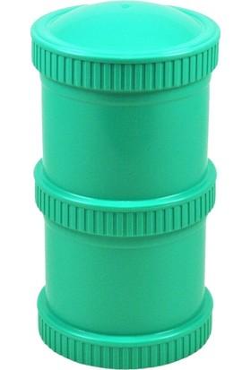 Re-Play Çift Katlı Saklama Kabı - Su Yeşili