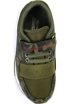 Slazenger ELA Spor Çocuk Ayakkabı Haki Kamuflaj