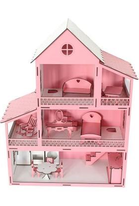 Hakikat Kitabevi Ahşap Barbie Oyun Evi