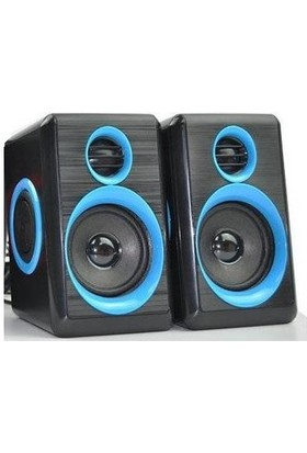Concord C-796 Bass + Tiz Ses Sistemi Hoparlör - Mavi