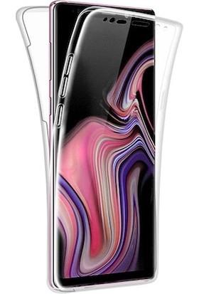 Kılıfreyonum Samsung Galaxy Note 9 Ön Arka Şeffaf 360 Derece Tam Korumalı Kılıf