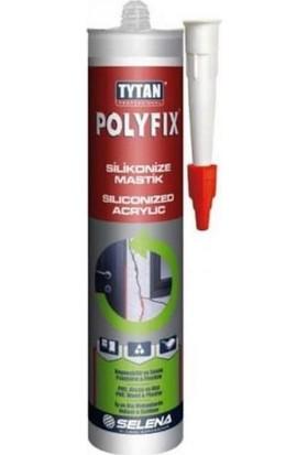 Tytan Beyaz Silikonize Mastik Tavan Kaplama Yapıştırıcısı 500 gr 12'li
