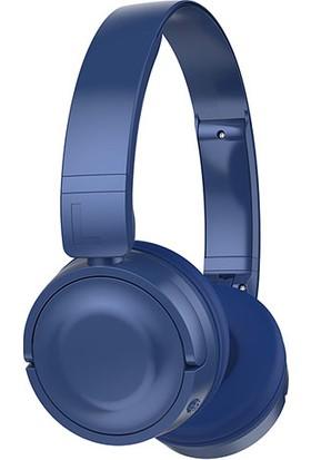 Hytech HY-XBK33 Batty Tf Kart Özellikli Bluetooth Kulaklık Mavi