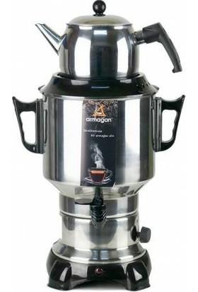 Armağan 6 Litre Demlikli Çay Makinesi & Çay Otomatı & Semaver