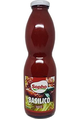 Sopho Basılıco Sauce 845 gr Fesleğenli Domates Sosu
