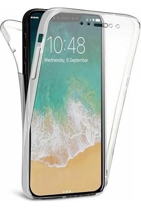 Kılıfreyonum Apple iPhone XR Ön Arka Şeffaf 360 Derece Tam Korumalı Kılıf