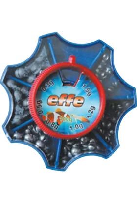 Effe Kıstırma Olta Kurşunu Plastik Kutulu (0.3 - 1.5 Gr) 100 gr