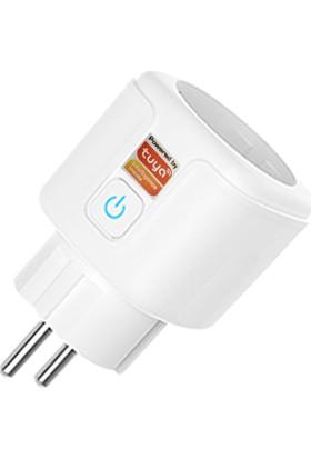 Tsmart Home Kablosuz Akıllı Wıfı Priz 16 Amper Tuya Destekli