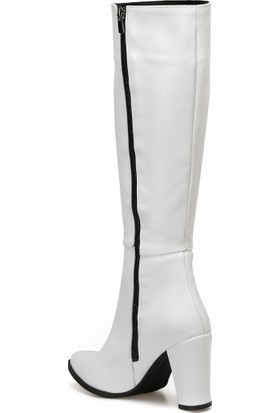 Butigo 19Sf-2092 Beyaz Kadın Çizme