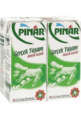 Pınar Tam Yağlı Süt 4x1 lt