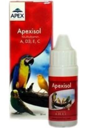 Apex Isol Kuşlar Için Multivitamin 30 ml