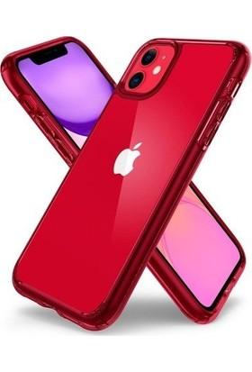 Spigen Apple iPhone 11 Kılıf Ultra Hybrid Red Crystal - ACS00405