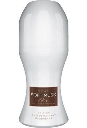 Avon Soft Musk Delice Antiperspirant Roll On Deodorant