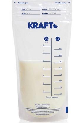 Kraft Süt Saklama Poşeti 25'li