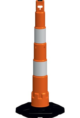 İlgi Trafik Dubalı Uyarı Dikmesi Kauçuk 14 cm x 120 cm