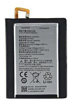 Saythink Lenovo Vibe S1 Lite Batarya Pil