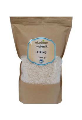 Ekotime Organik Pirinç 1 kg
