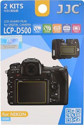 JJC LCP-D500 LCD Ekran Koruyucu Film 2'li Paket Nikon D500