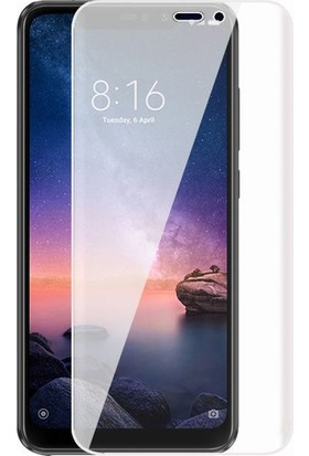 Microcase Xiaomi Redmi Note 6 Pro Full Ön Kaplama TPU Soft Filmi