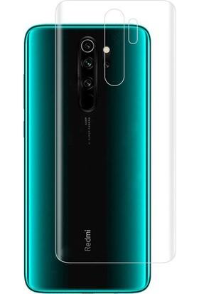 Microcase Xiaomi Redmi Note 8 Pro Full Arka Kaplama TPU Soft Filmi