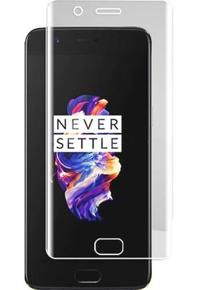 Microcase OnePlus 5 Full Ön Kaplama TPU Soft Filmi