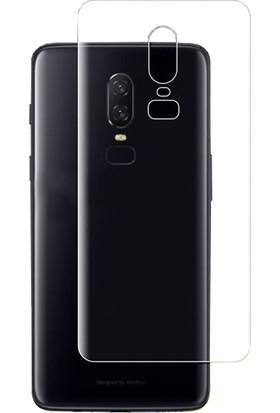 Microcase OnePlus 6 Full Arka Kaplama TPU Soft Filmi