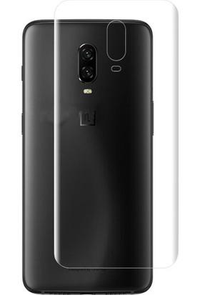 Microcase OnePlus 6T Full Arka Kaplama TPU Soft Filmi
