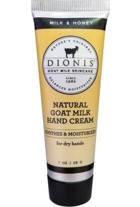 Dionis Milk Honey Keçi Sütü El Kremi 28gr