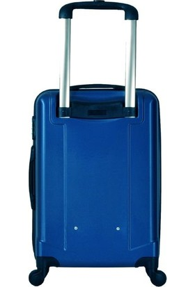 Blue Monkey BA001 3'lü Set Kabin + Orta + Büyük Boy Valiz - Mavi