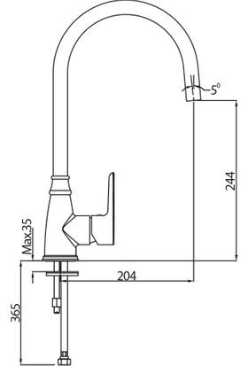 Nsk Alamera Eviye Bataryası