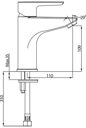 Nsk Alamera Lavabo Bataryası