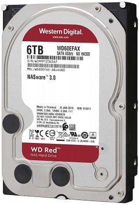 Western Digital 6TB Sata 3.0 64MB Cache Hard Disk WD60EFAX