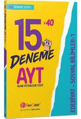 Fen Cebir Ayt Edebiyat Sosyal Bilimler-1 15X40 Deneme 2020-Yeni