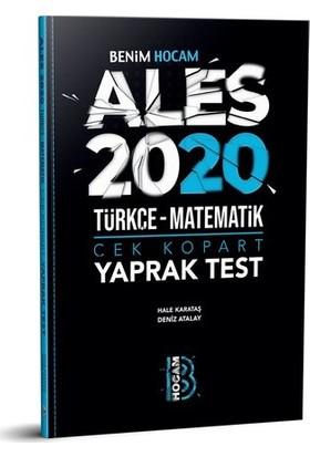 Benim Hocam Yayınları 2020 Ales Çek Kopart Yaprak Test