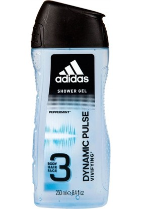 Adidas Duş Jeli King 2in1 Dynamic Pulse 250 ml.
