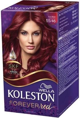 Wella Koleston Set Saç Boyası Özel Kızıllar Serisi 55/46 Kızıl Büyü