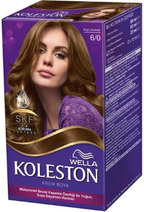 Wella Koleston Set Saç Boyası 6/0 Koyu Kumral