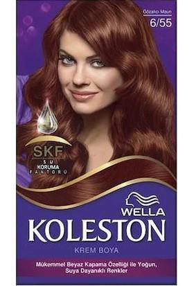 Wella Koleston Set Saç Boyası 6/55 Gözalıcı Maun