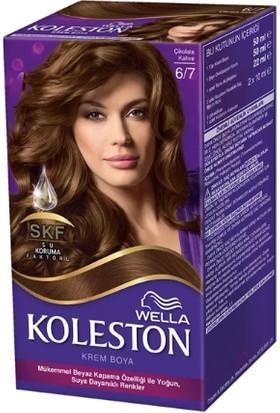 Wella Koleston Set Saç Boyası 6/7 Çikolata Kahve