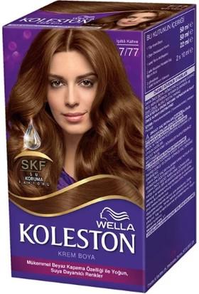 Wella Koleston Set Saç Boyası 7/77 Işıltılı Kahve
