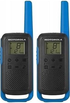 Motorola Tlkr T62 Açık Alan 8km Pmr El Telsizi Mavi