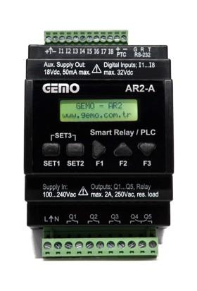 Gemo Akıllı Role AR2-A-230VAC-8D