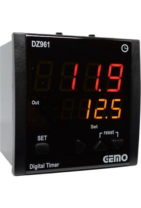 Gemo 4 Haneli Zaman Rolesi DZ961-230VAC